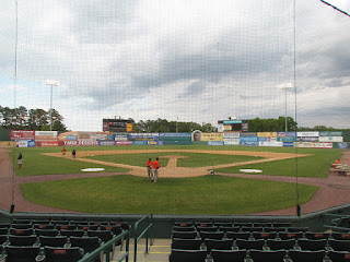 Home to center, Arthur W. Perdue Stadium