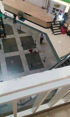 Man Commits Suicide, Jumps Off Gaisano Mall's 5th Floor In Davao City!