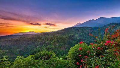 Senaru Village altitude 600 m National Park of Mount Rinjani