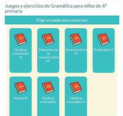 http://www.mundoprimaria.com/juegos-lenguaje/juegos-ejercicios-gramatica-6o-primaria/