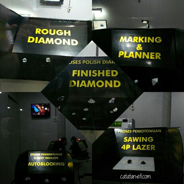 Pengolahan Berlian di Indo Wisata Permata Bandung