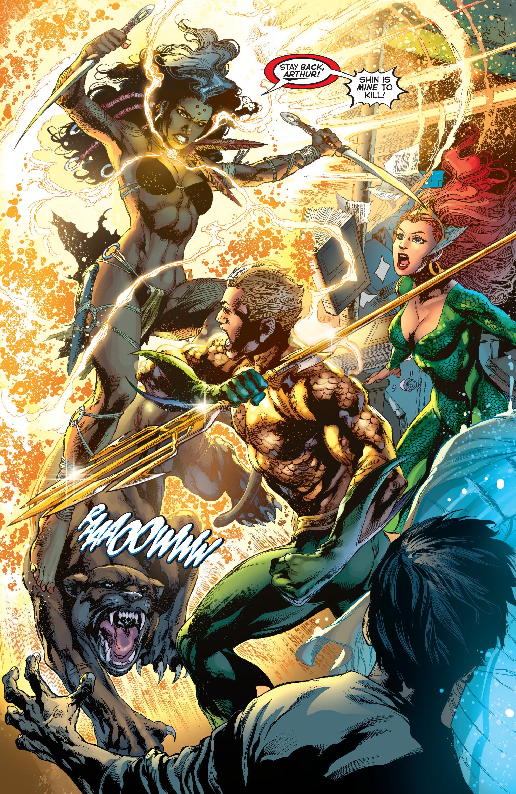 Read online Aquaman (2011) comic -  Issue #7 - 18