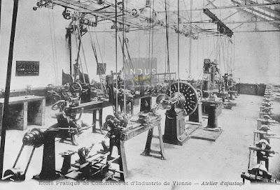 Ecole pratique de commerce et d'industrie de Vienne - Atelier d'ajustage