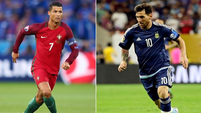 Tancap Gas, Messi dan Ronaldo Balapan Menuju 50 Hat-trick