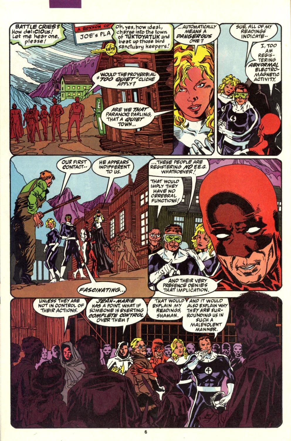 Read online Alpha Flight (1983) comic -  Issue #93 - 6