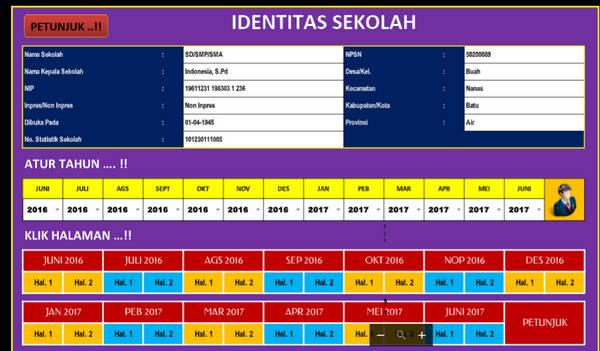 Aplikasi Laporan Bulanan Sekolah [SD, SMP, SMA, SMK]
