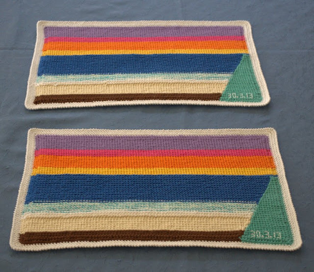 Two placemats finished.