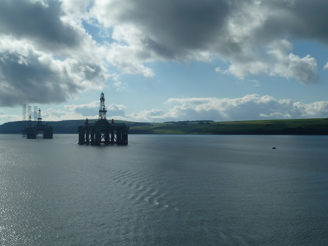 cruise britain ports of call scotland Invergordon cromarty firth