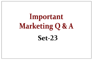 Important Marketing Questions
