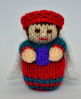 Nativity Wise Man, King Doll Knitting Pattern