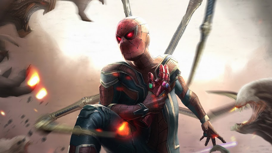 Spider Man Instant Kill Mode Infinity Stones Avengers