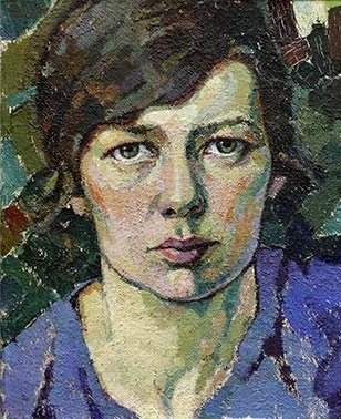 Selfportrait, Tora Vega Holmstrom