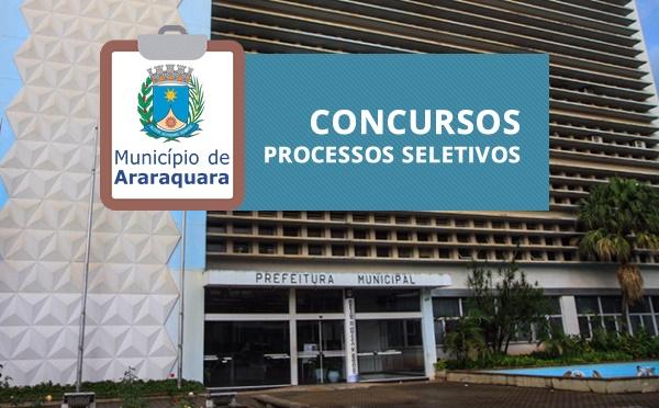 Processo Seletivo Prefeitura do Município de Araraquara