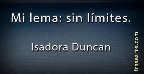 Isadora Duncan en frases