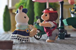 DIY, flower cart, Lionel Grande, musical, Sylvanian Families, Town series