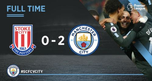 Stoke City vs Manchester City 0-2 Highights