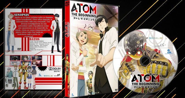 Atom: The Beginning   Cover DVD  