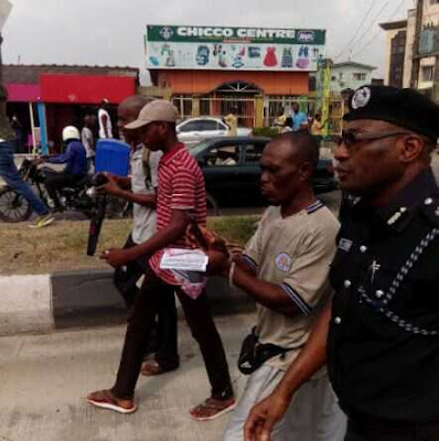 National Protest: Lagos Commissioner of Police 'Joins' Rally