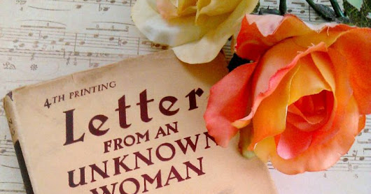 Book Review: Letter from an Unknown Woman by Stefan Zweig