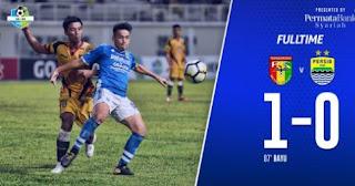 Persib Bandung kalah 0-1 dari tuan rumah Mitra Kukar