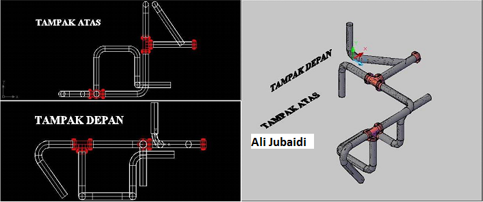 cara menggambar menggunakan autocad 2007 | Planet CAD