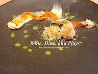 The Test Kitchen / trout cheesecake / https://winedineandplay.blogspot.com/2014/01/the-test-kitchen.html