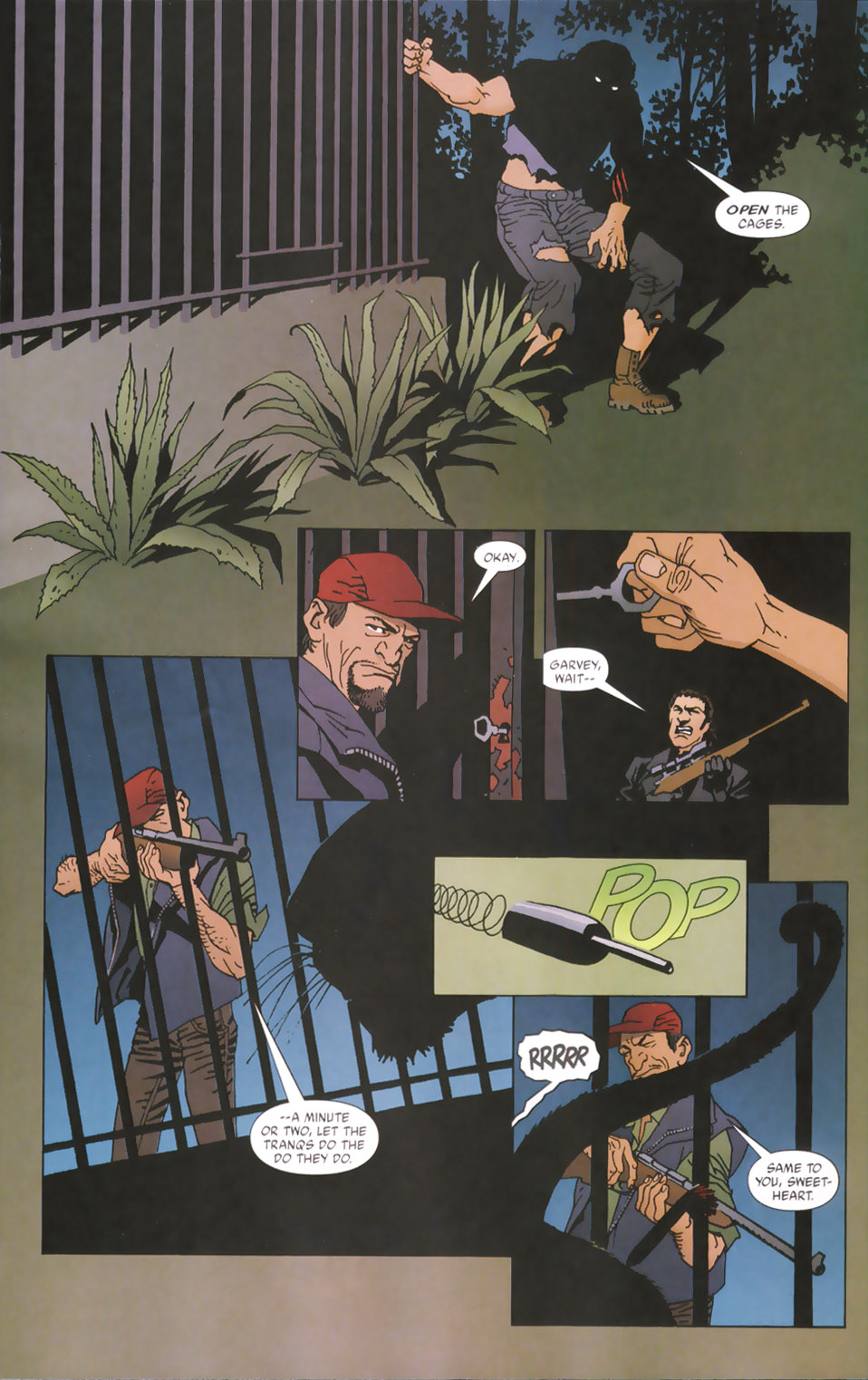 Read online 100 Bullets comic -  Issue #48 - 17