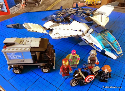 LEGO Marvel Avengers Quinjet City Chase set 76032 review