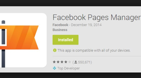 Facebook Pages Manage Free Download on Android App