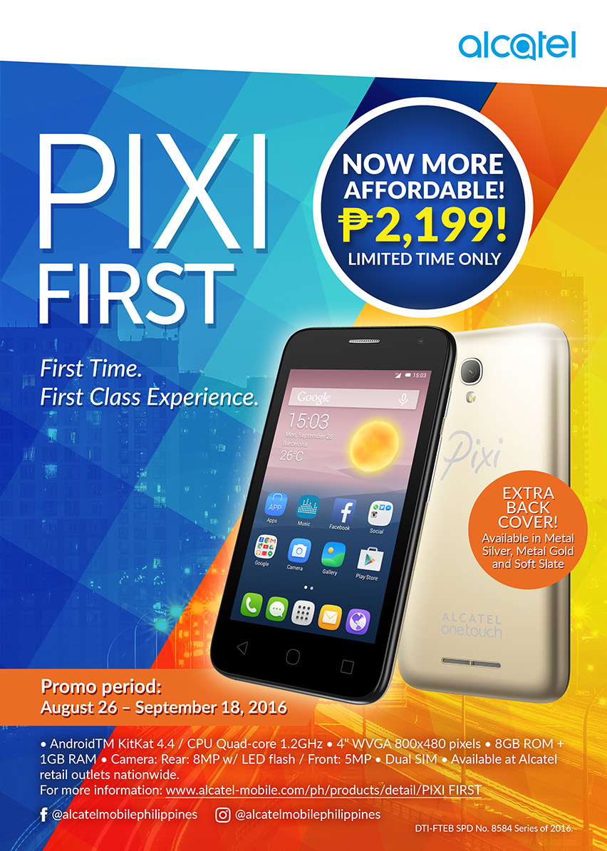 Alcatel PIXI First Promo