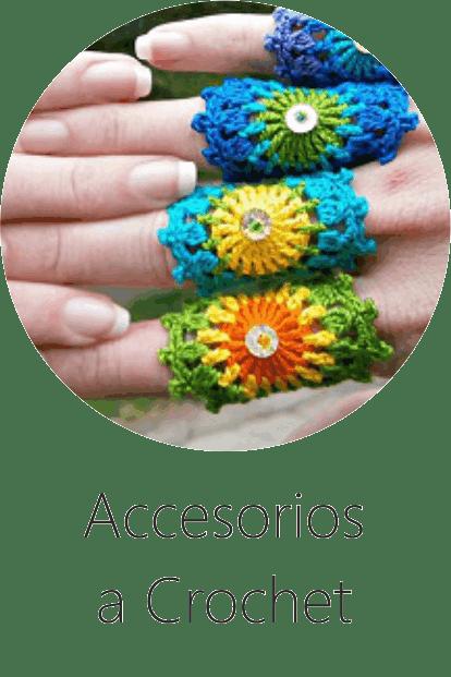 Tutoriales de Accesorios a Crochet