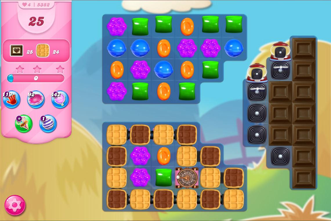 Candy Crush Saga level 5382