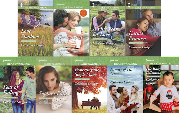 Shores of Indian Lake series covers