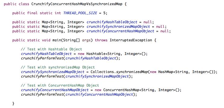 程式扎記: [ Java 文章收集] HashMap Vs. ConcurrentHashMap Vs ...