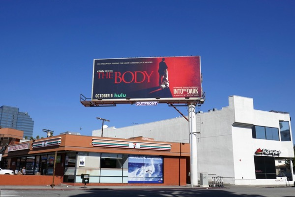 The Body hulu billboard