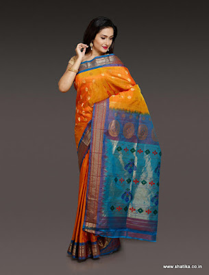 India-paithani-saree-designs-maharashtrian-blouse-patterns-1