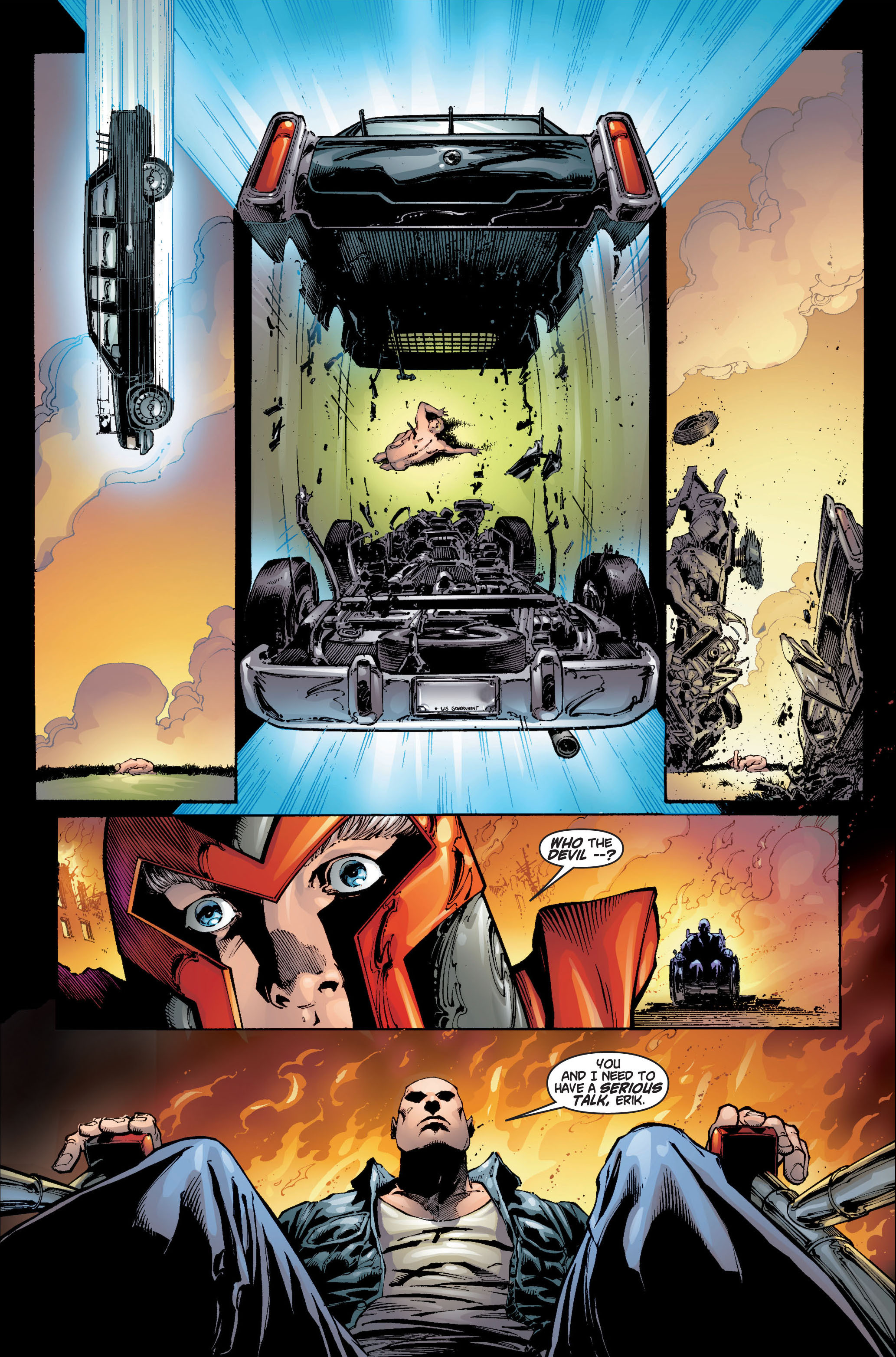 Read online Ultimate X-Men comic -  Issue #6 - 11