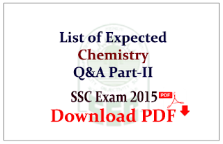 List of Expexted Chemistry Questions and Answers Capsule Download in PDF