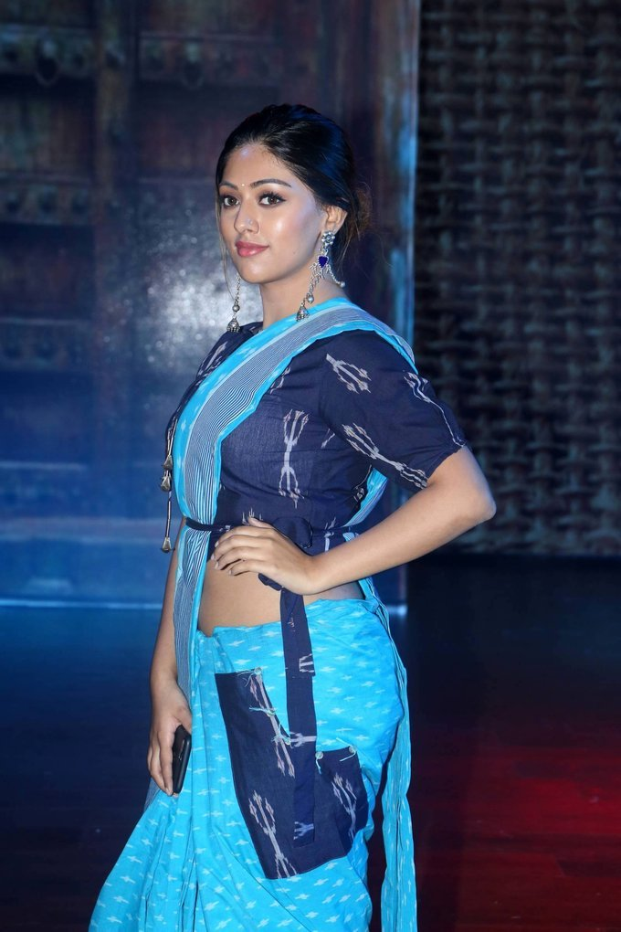 Anu Emmanuel at Woven 2017 Fashion Show Photo Gallery