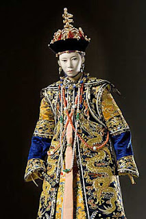 Portrait of Empress Tzu An by George Stuart