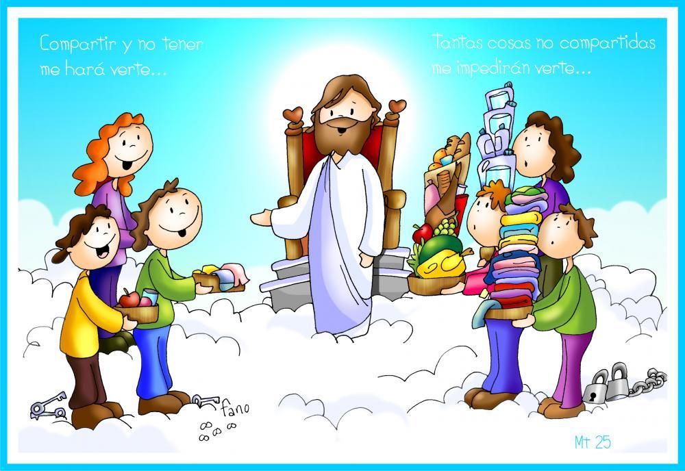 La Catequesis El Blog De Sandra Dibujo De Fano Jesucristo
