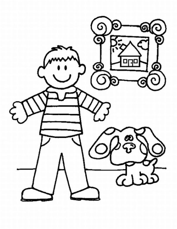 Blues Clues Coloring Pages | Learn To Coloring