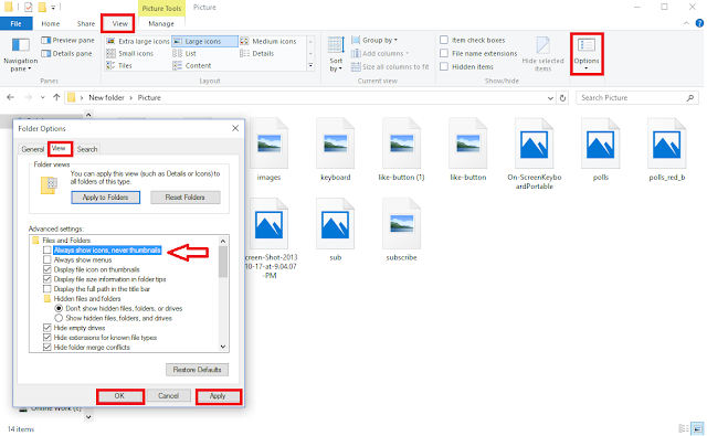How to Fix Thumbnails Preview not showing & Make Folder Open Faster,Thumbnails Preview not showing,picture Thumbnails Preview not showing,no Thumbnails Preview,how to fix,how to show thumbnails,folder open slow,open folder faster,video folder,music folder,picture folder,make folder faster to open,fast shows thumbnails,windows 10 thumbnails not showing,file preview not showing,image preview,photo,picture preview,quick preview In this video i will shows How to Fix Thumbnails Preview not showing & Make Folder Open Faster  Click here for more detail..