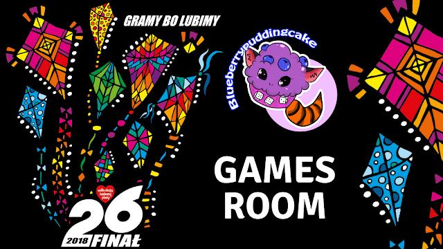 Aukcja Games Room WOŚP 2018