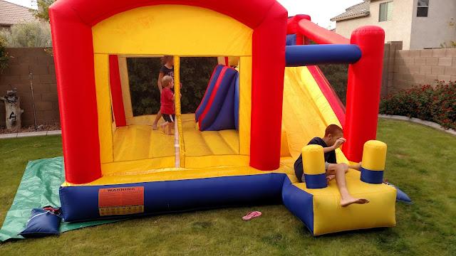 Toddler combo bounce house rentals AZ