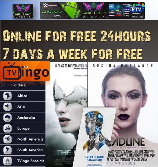 Download Free TVingo online - IPTV Apk For Android This App Provide Lots of PremiumCable Channel,SportsChannel,Movies Channel.Watch LiveTVAny Where In The World Through Internet With Multiple Devices Like Computers,Tablets,SmartsPhones Smart TV Must Have Android Devices.