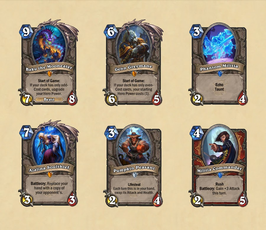hearthstone witchwood cards expansion blizzard