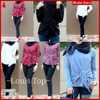 RFX021 MODEL LOUIS TOP BAHAN TWISCONE HALUS FIT L MURAH ONLINE