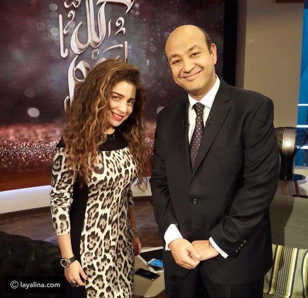 عمرو أديب يحرج مي عز الدين بعمرها الحقيقي وهذا هو سبب عدم زواجها
