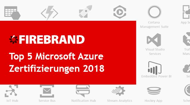 Top 5 Microsoft Azure Zertifizierungen 2018